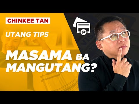 Utang Tips: MASAMA BA MAGPAUTANG?