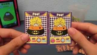 Pou Cards 1 - Coleção de cartas do pou