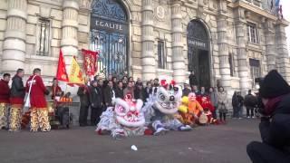 Nouvelle ans chinois 2014 Paris Lion Partie 1