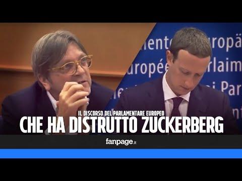 Il discorso del parlamentare che ha distrutto Mark Zuckerberg