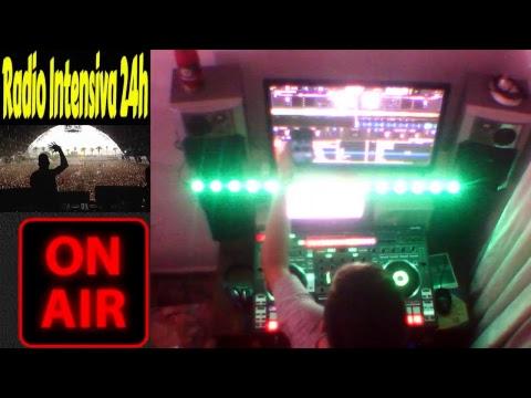 Live  Radio Intensiva 24h  Set Techno DJ Yesus Jordan