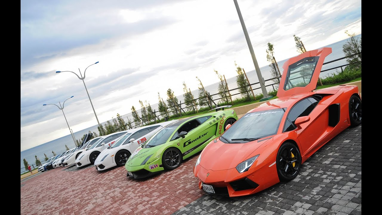 Gmotor IN 大鵬灣國際賽車場 法拉利 藍寶堅尼 保時捷 Ferrari.Lamborghini.Porche.Maserat MP4-12C - YouTube