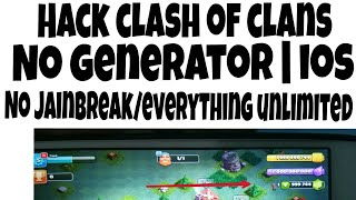 How to hack clash of clans on ios without human verification / without jailbreak | Tech with A