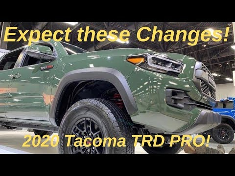 2020 Tacoma TRD PRO - Here are the Changes to Expect!