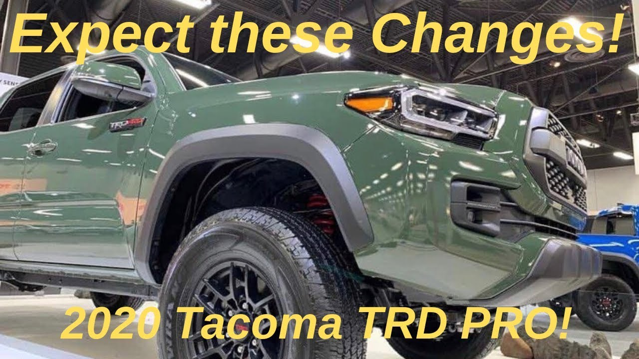 2021 Toyota Tacoma Price, MSRP, Colors >> 2020 Toyota Tacoma Trd Pro Here Is What You Can Expect Torque News
