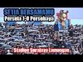 Suasana Saat Peluit Akhir Ditiup, Persela Vs Persebaya 1-0 Anthem Setia Bersamamu, Stadion Surajaya