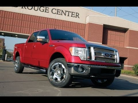 ford f150 ecoboost turbo v6 towing test video with. Black Bedroom Furniture Sets. Home Design Ideas