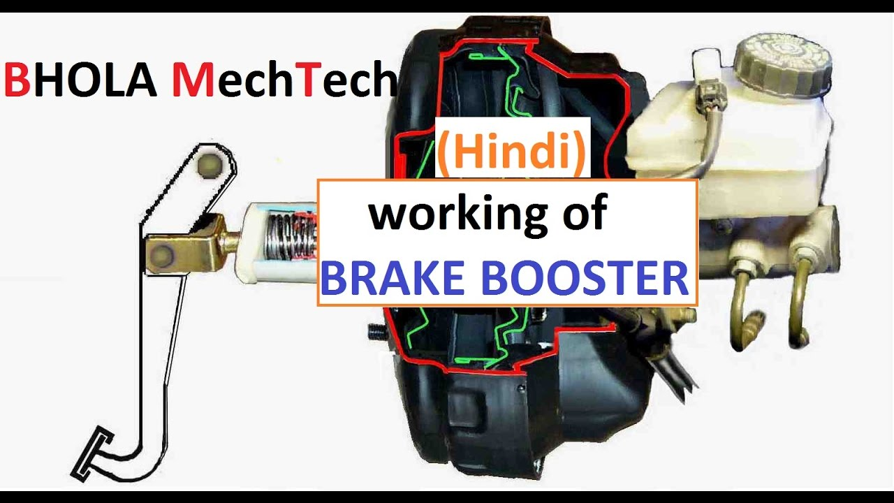 Brake Booster Explained In Hindi