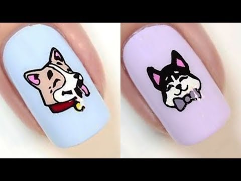 Лёгкий дизайн ногтей 2019 💅 Топ 10 Простые идеи маникюра Модные Тенденции Как сделать маникюр дома