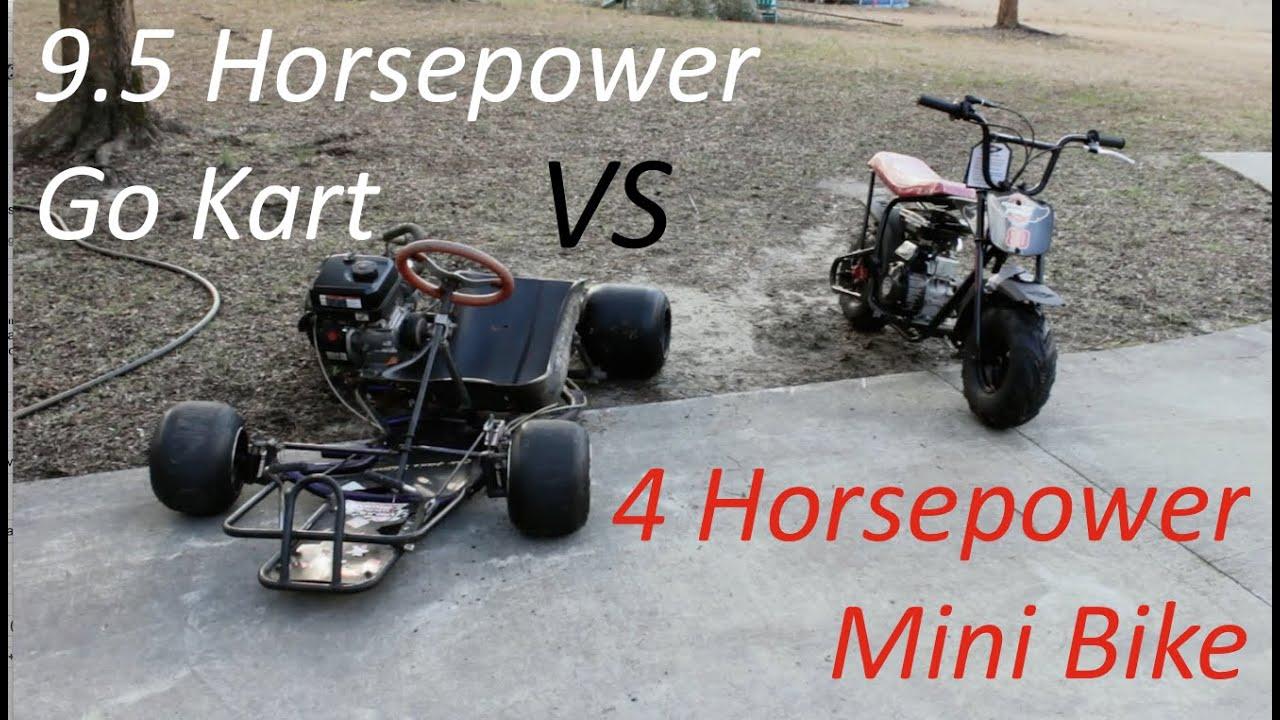 Race! Mini Bike vs. Go Kart