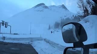 Перевал San Bernardino - ужасы Швейцарии / Итальянские мусорки, корчи и заезды на выгрузку.
