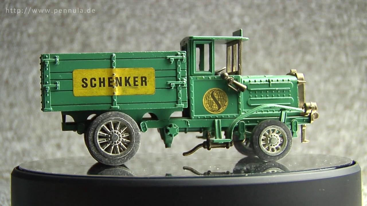 Henschel LKW Oldtimer Werbefahrzeug der Firma Schenker ...