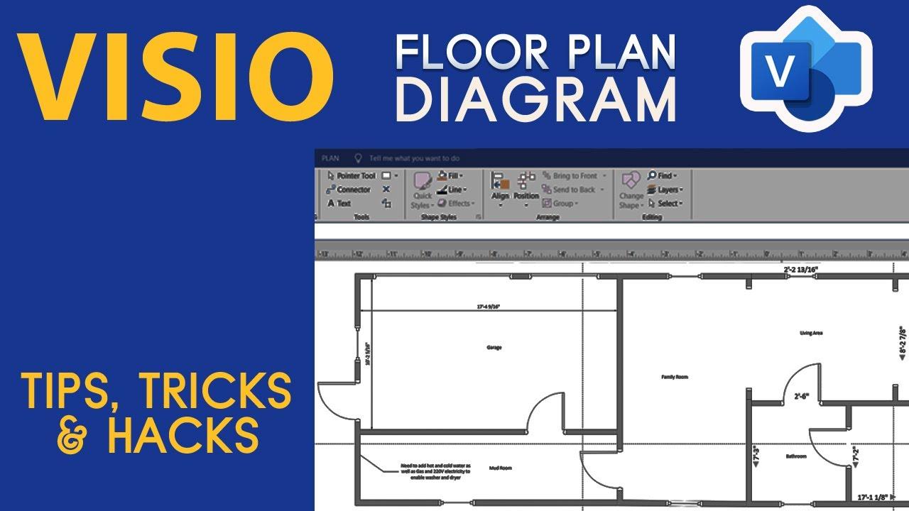 Visio Floor Plan Diagram Tips Tricks And Hacks