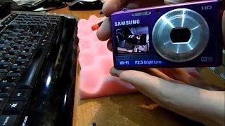 видео Ремонт фотоаппаратов Samsung