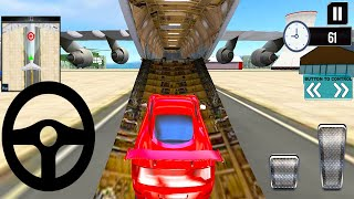 Transporting Sports Cars in Cargo Plane - Modern Car Transporter Truck - Android Gameplay