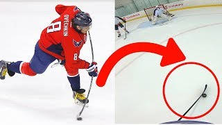 USING OVECHKIN'S STICK! | 3 on 3 GoPro Hockey