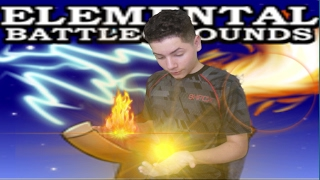 Roblox Elemental Battlegrounds Powers of Fire and Light Thank you for 1k views ElMylhamPlays