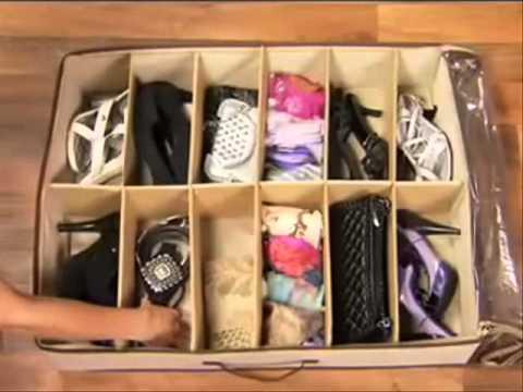 Video demostrativo organizador de zapatos anunciado en tv youtube - Organizador de zapatos ...