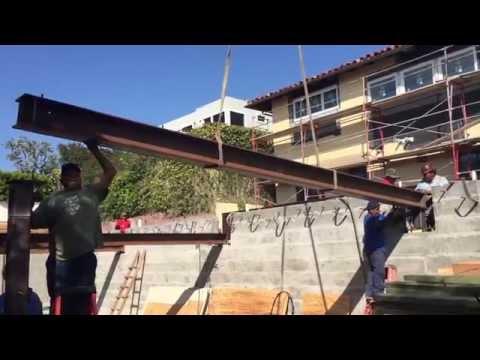 Silicon Bay Development | Basement Steel Installation