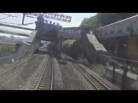 台鐵 52次觀光環島列車 台北 - 花蓮 路程景