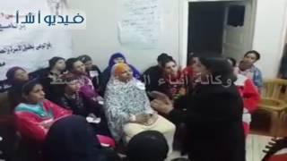 محافظ المنيا يتفقد وحدة تأهيل ذوي الإعاقة بقرية بني أحمد الشرقية