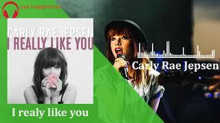 Carly Rae Jepsen - I Really Like You [8d audio]