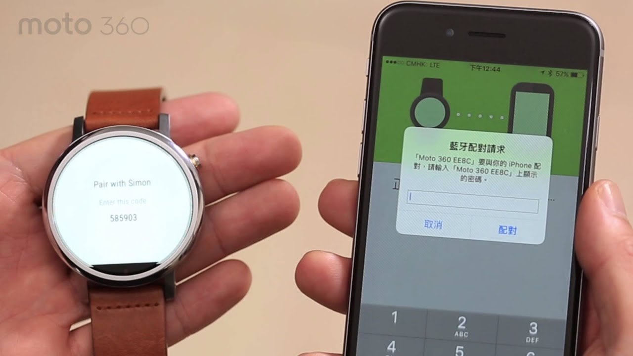 moto 360 for iphone moto 360 2nd 搭上iphone 15708