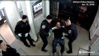 Indiana Police Officers Charged After Punching Handcuffed Man
