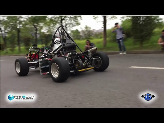 Farsoon and Changsha University's 3D Printed Race Car