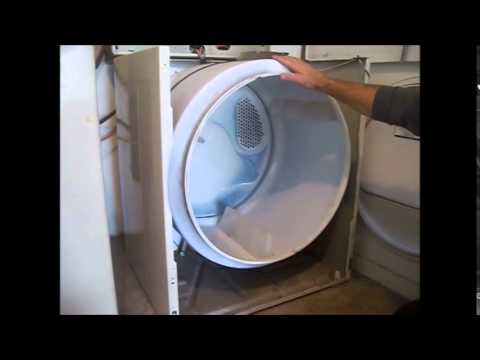kenmore 80 series dryer belt. kenmore dryer - how to replace belt 80 series