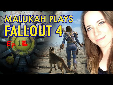Malukah Plays Fallout 4 - Ep. 1: New Ground...