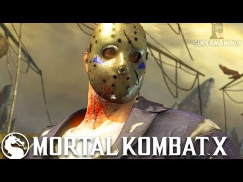 "THIS IS A REAL JASON VOORHEES BRUTALITY! - Mortal Kombat X ""Jason Voorhees"" Gameplay"