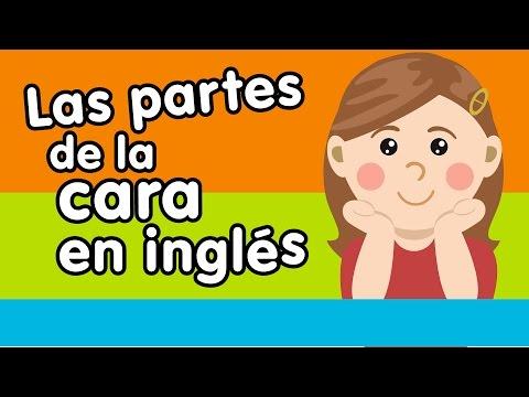Las partes de la cara en inglés - Canción para niños - Canciones Infantiles - Doremila