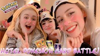 Hotel Pokemon Card Pack Battle