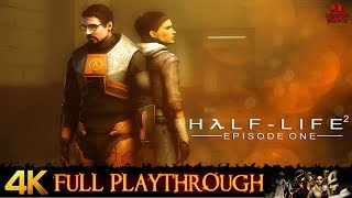 Half Life 2 : Episode 1 | 4K/60FPS/MMod | Full Longplay Walkthrough No Commentary