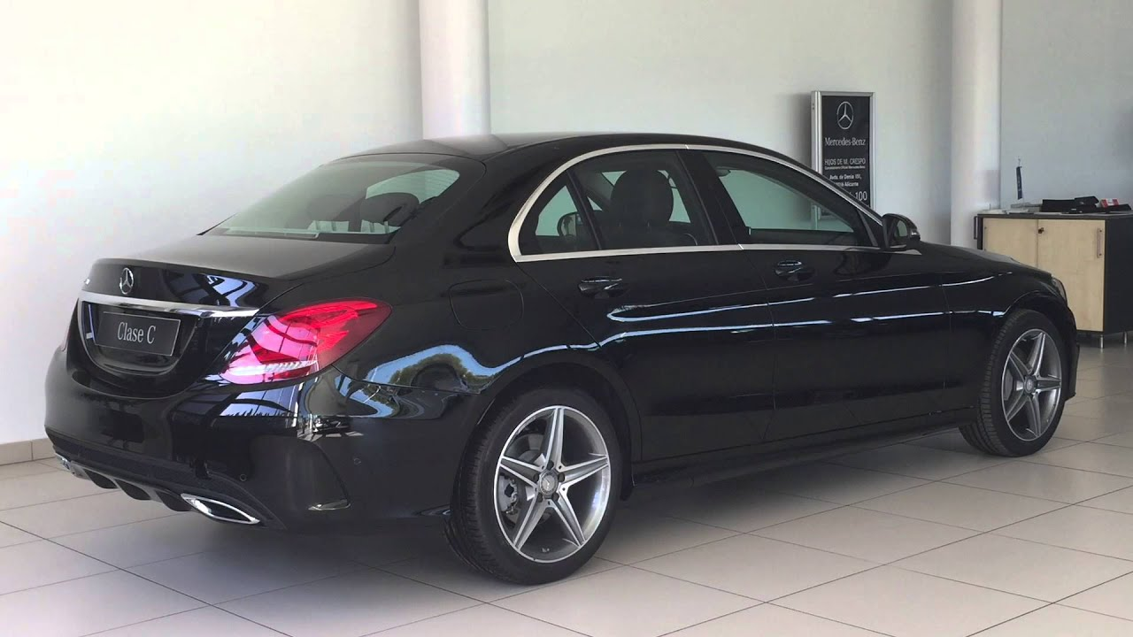 Mercedes benz clase c 220 d amg manual youtube for Mercedes benz c 220
