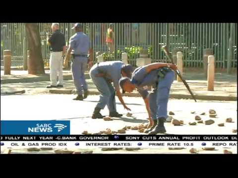 Chaos erupts at University of Pretoria in Hatfield