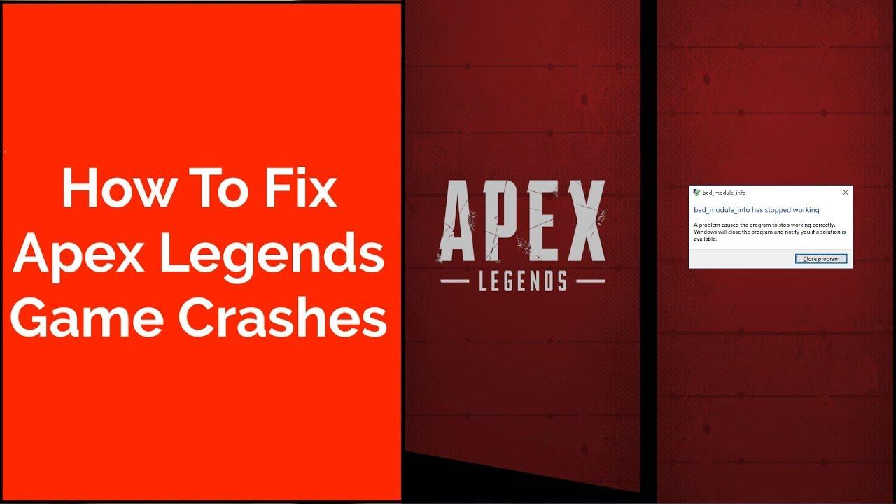 How To Fix Apex Legends Game Crash   Apex Legends Battle Royale