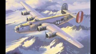 Aviation Art - B-24 Liberator