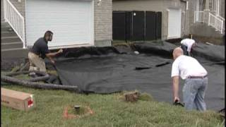 Geotextile Against Ammended Subgrade