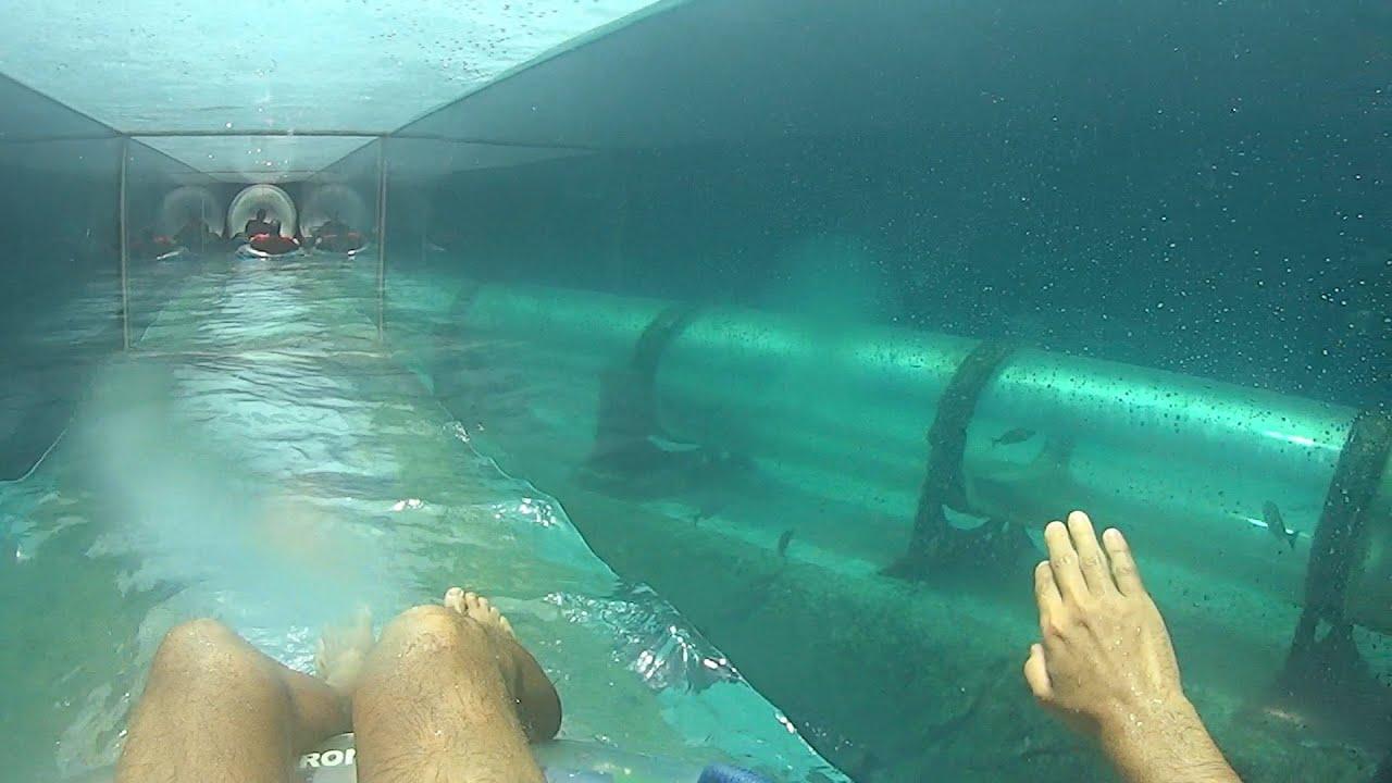 Serpent Water Slide at Atlantis - YouTube