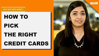 Why Not Mint Money   How to pick the right credit cards