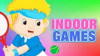 Indoor Games For Kids | Educational Videos | Simba Tv | #KidsLearning | 3D Animated Video for Kids