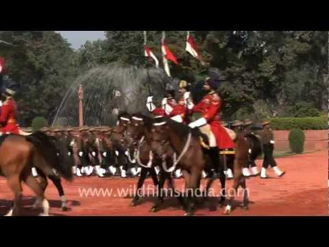 Change of Guard at Rashtrapati Bhawan
