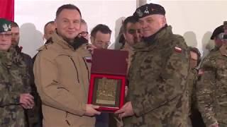 Prezydent RP Andrzej Duda w Żaganiu