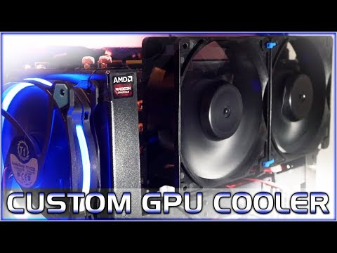 Custom GPU Fan For Mining Cryptocurrency - Lower Temperatures! Delta Cooling