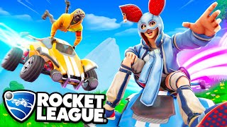 Fortnite Pros try Rocket League (Epic)