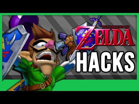 Zelda Ocarina of Time ROM Hacks!
