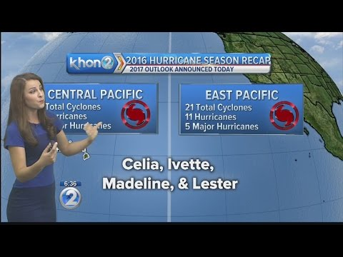 National Weather Service to release outlook for 2017 Central Pacific Hurricane Season