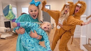 ULTIMATE ONESIE DANCE BATTLE AGAINST EVERLEIGH & JOJO SIWA!!! thumbnail